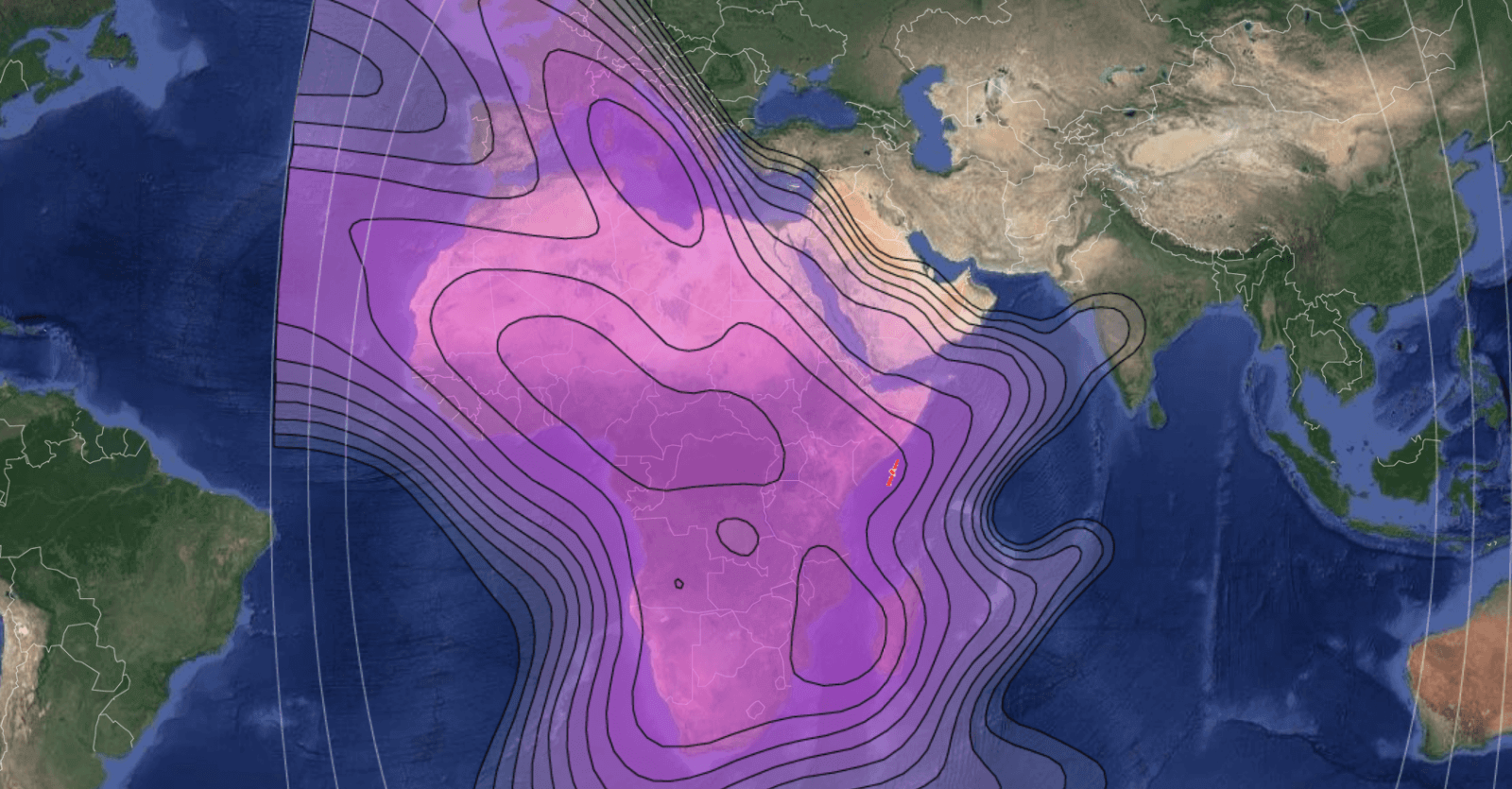 Measat Africasat 1a - 46° Est