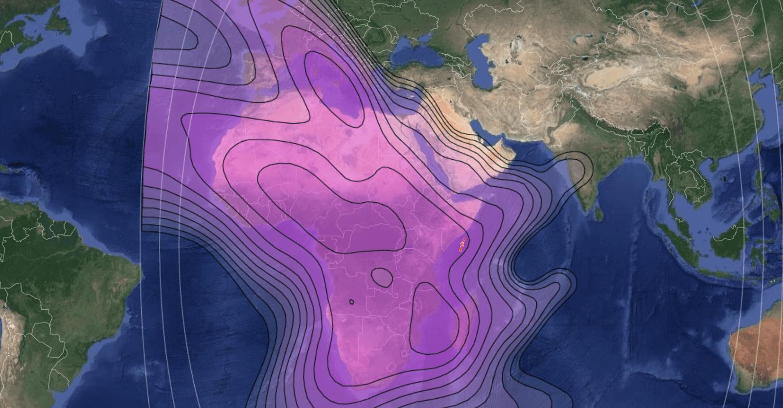 Measat Africasat 1a - 46° East