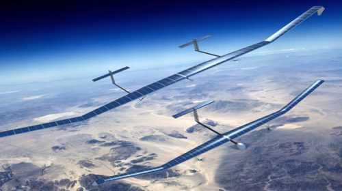 Cross–Breeding Drones and Satellites?