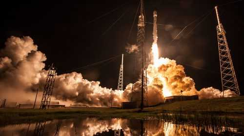 Record Breaking SpaceX Falcon 9 Launches Telstar 19 VANTAGE