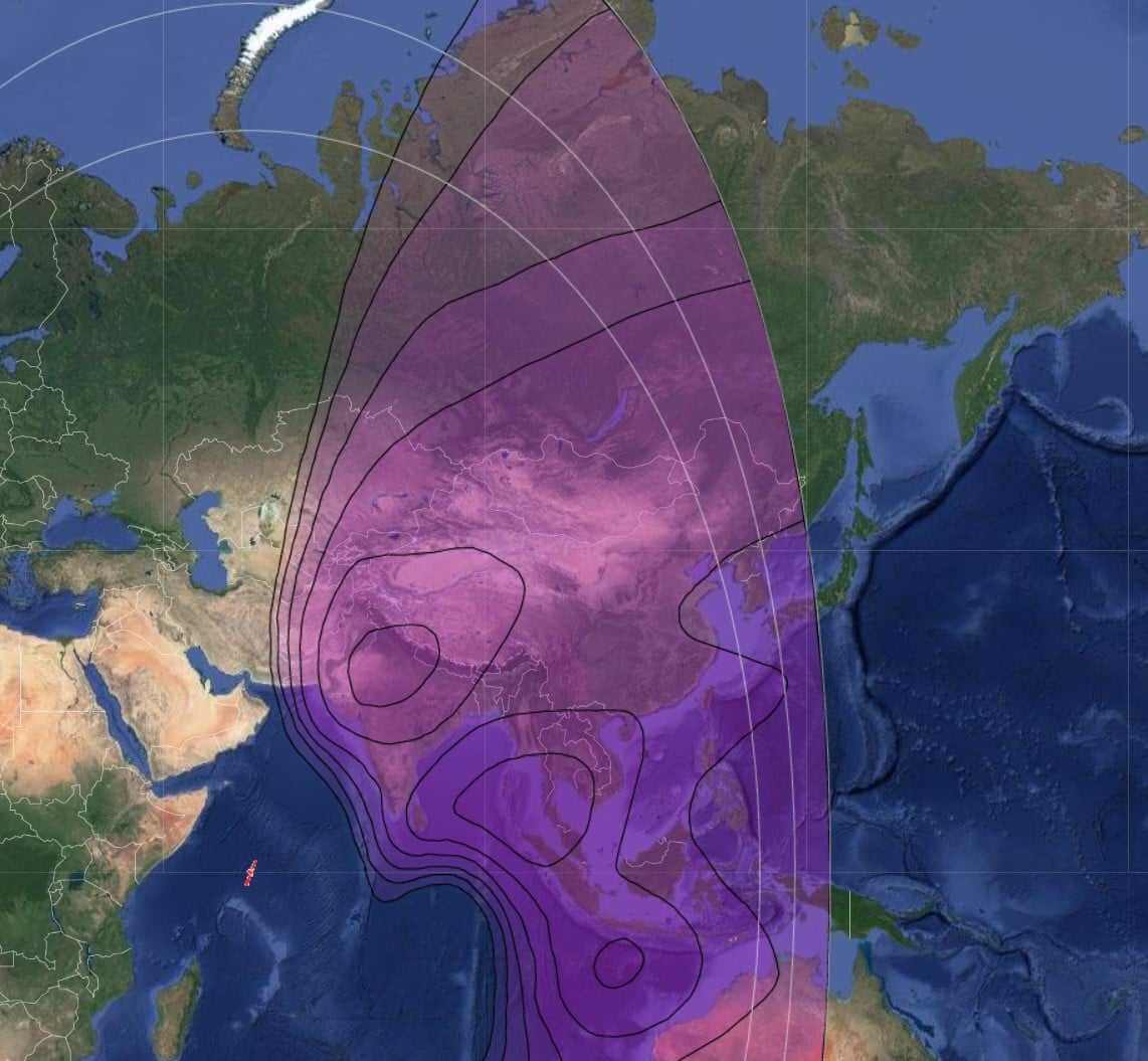 SES NSS-12 - 57° East