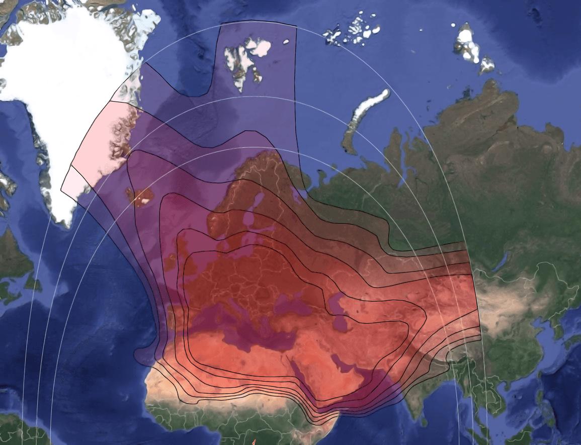 Eutelsat 21B - 21.5° East