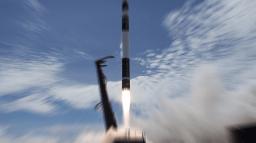 Rocket Lab Capture Success